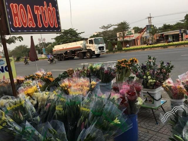 Một góc nhỏ shop hoa tươi của cô giáo trẻ