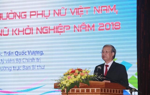 Đồng chí Trần Quốc Vượng, Ủy viên Bộ Chính trị, Thường trực Ban Bí thư Trung ương Đảng.