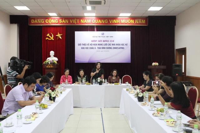 Hội Nữ trí thức Việt Nam thông báo các nội dung quan trọng của INWES-APNN.