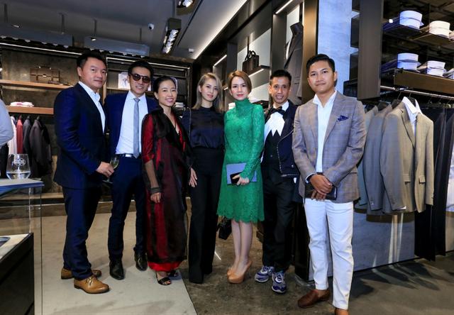 Lễ khai trương Canali tại Hà Nội với sự góp mặt của nhiều quý ông và doanh nhân thành đạt - 9