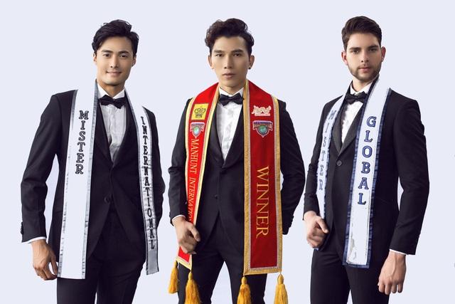 Mister Internatinal 2018 Seung Hwan Lee, Mister Global 2017 Pedro Henrique, Manhunt International 2017 Trương Ngọc Tình đồng hành cùng các thí sinh qua các chặng thi, nhằm tìm kiếm đại diện toàn diện nhất.