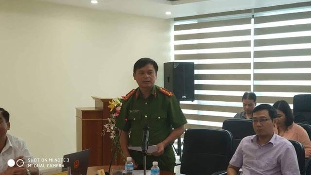 Đại tá Thái Hồng Công - Phó Giám đốc công an tỉnh Quảng Ninh