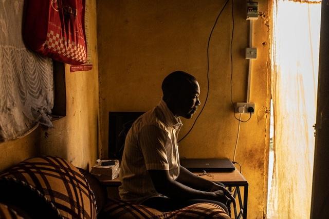 Richard Ochieng, một nhân chứng người Kenya bị người Trung Quốc kỳ thị chủng tộc (Ảnh: New York Times)