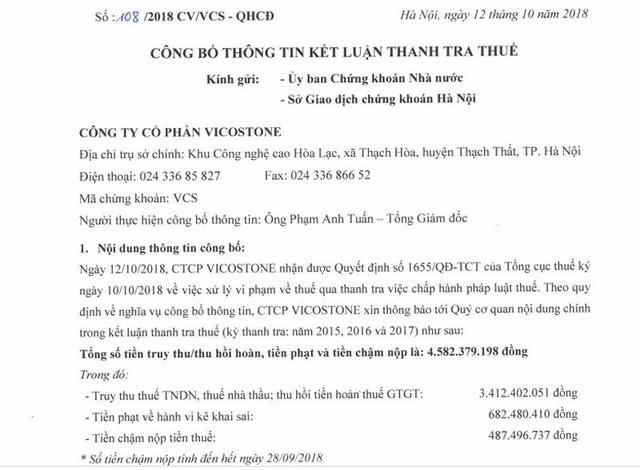 Doanh nghiệp ông Hồ Xuân Năng dính vận đen đủi.