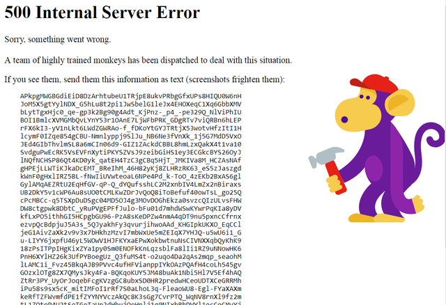 Thông báo lỗi khi truy cập YouTube.