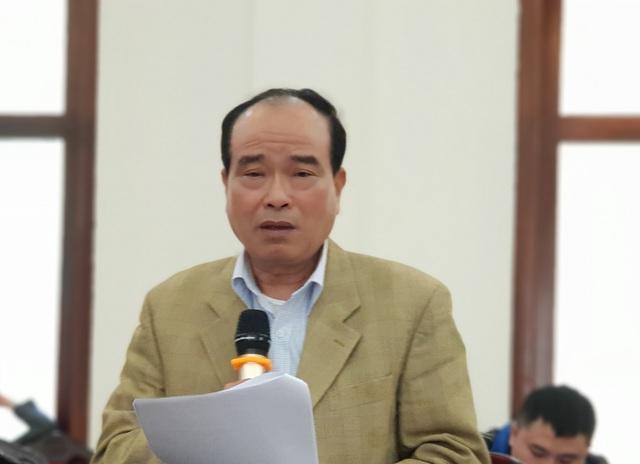 TS Lê Đình Ân, nguyên Giám đốc Trung tâm Thông tin và Dự báo kinh tế xã hội Quốc gia.