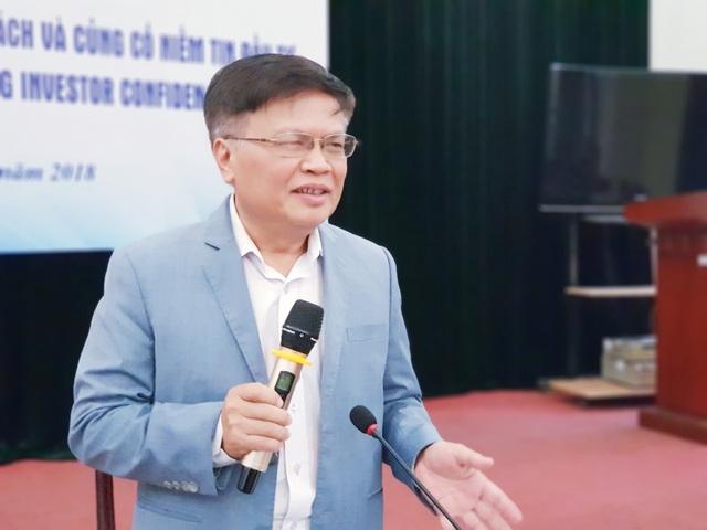 TS Nguyễn Đình Cung, Viện trưởng Viện CIEM, chuyên gia kinh tế.