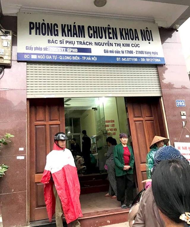 Phòng khám do bác sĩ Nguyễn Thị Kim Cúc phụ trách.