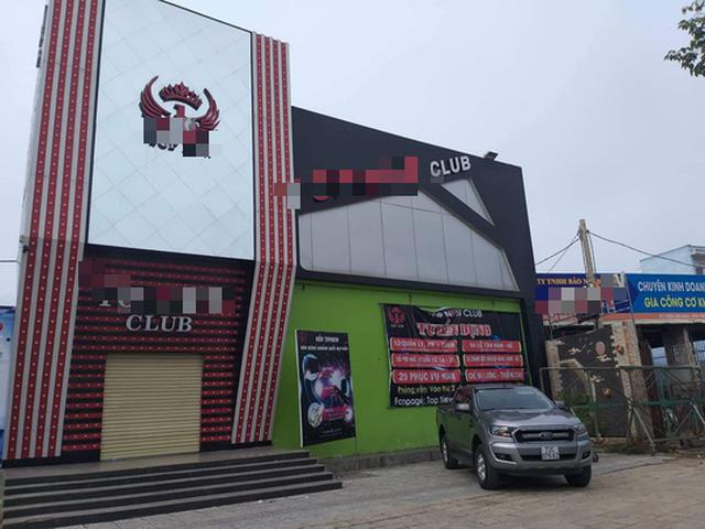T. N.Club nơi xảy ra án mạng chết người