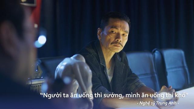 """""""Người ta ăn uống thì sướng, mình ăn uống thì khổ"""" - NSƯT Trung Anh."""