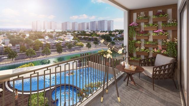 Hinode City - dự án hiếm hoi tại Hà Nội bàn giao hoàn thiện tới cả ban công căn hộ