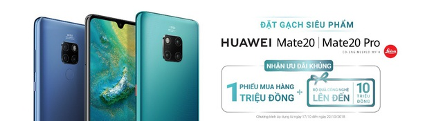 """Cận cảnh bộ đôi Mate 20 và Mate 20 Pro từ Huawei – Flagship """"đỉnh"""" cuối năm 2018 - 6"""