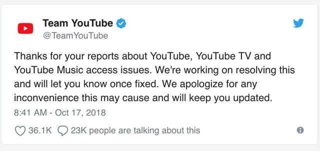 YouTube gặp sự cố kết nối khắp toàn cầu, trong đó có Việt Nam - 3
