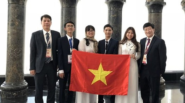 Đội tuyển Olympic Sinh học quốc tế 2018