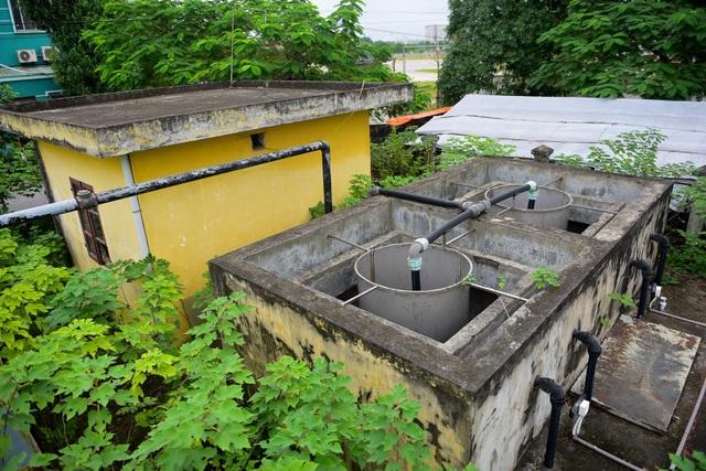 Hà Nội: Khu xử lý nước thải tiền tỷ bỏ hoang 10 năm - 9