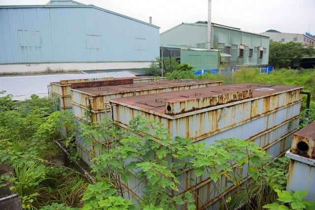 Hà Nội: Khu xử lý nước thải tiền tỷ bỏ hoang 10 năm - 11