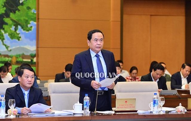 Chủ tịch UB TƯ Mặt trận tổ quốc Việt Nam báo cáo tổng hợp ý kiến, kiến nghị cử tri trước UB Thường vụ Quốc hội