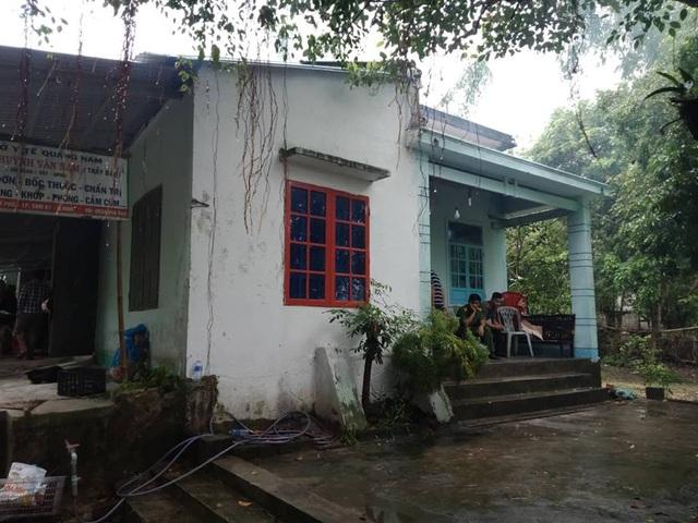 Nhà của nạn nhân, nơi xảy ra vụ việc