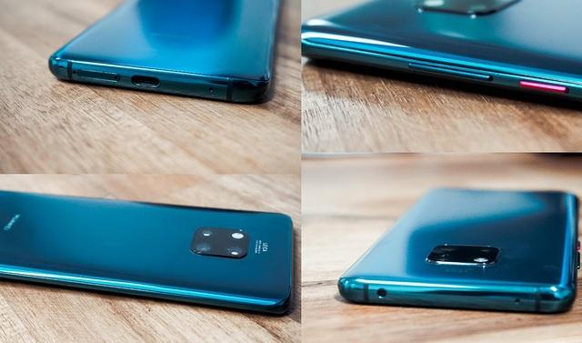 """Huawei Mate 20 Pro: Thiết kế """"lạ đời"""" - 7"""