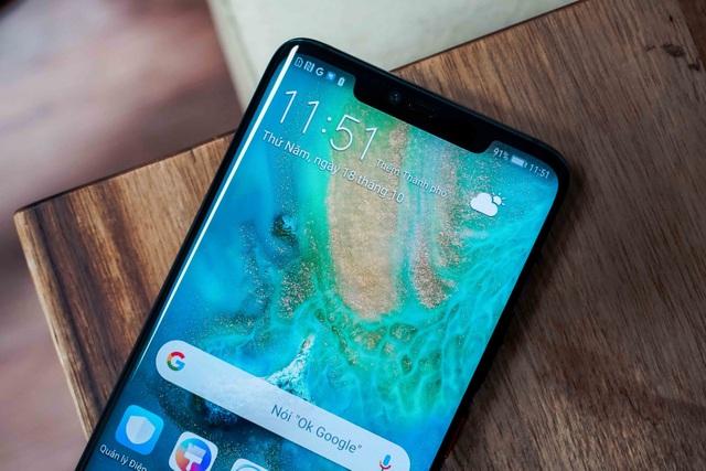"""Huawei Mate 20 Pro: Thiết kế """"lạ đời"""" - 11"""