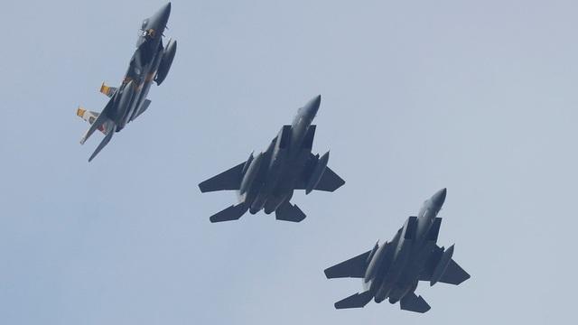 Máy bay F-15 của Mỹ (Ảnh: Reuters)