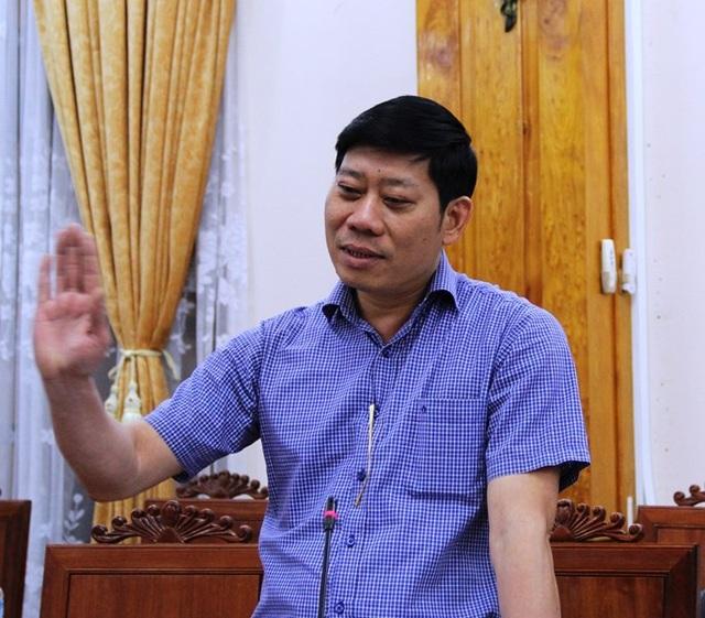 Ông Nguyễn Quang Hùng - Phó Tổng cục trưởng Tổng cục Thủy sản (Bộ NN&PTNT) lưu ý một số vấn đề tại cuộc họp.