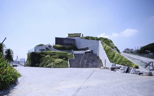 Công trình dự án nhà hàng bến du thuyền của Vũ nhôm ven sông Hàn, Đà Nẵng