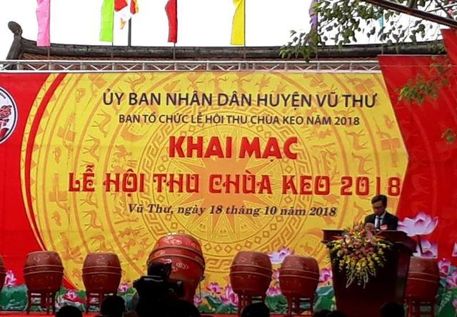 Khai mạc lễ hội thu chùa Keo năm 2018
