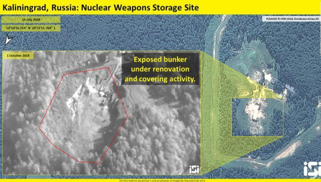Nga có thể đã nâng cấp hầm có thể dùng chứa vũ khí hạt nhân. (Ảnh: ISI)