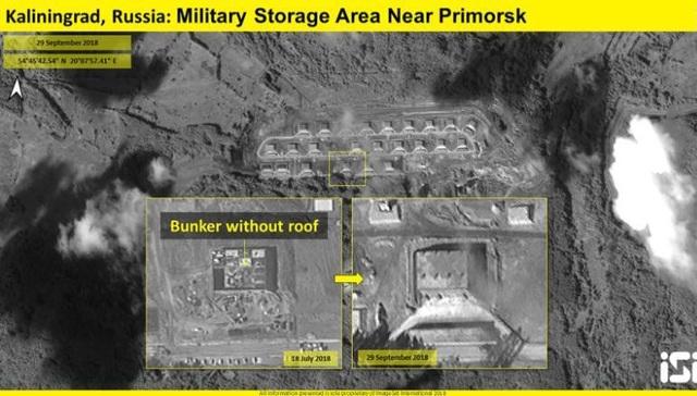 Nga được cho là đã nâng cấp kho quân sự gần Primorsk. (Ảnh: ISI)