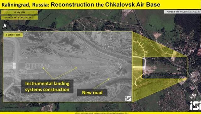 Nga nâng cấp căn cứ không quân Chkalovsk.(Ảnh: ISI)