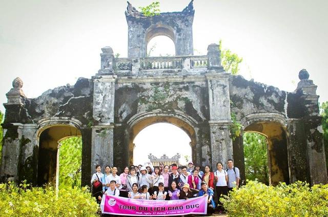 Tour Du lịch giáo dục Huế được Khoa Du lịch - Đại học Huế triển khai