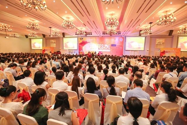 Hội nghị VUS TESOL 2018 vừa qua tại TP.HCM với hơn 2.700 người tham dự