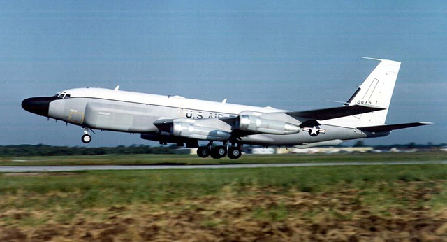 Máy bay RC-135V của Mỹ. (Ảnh: AFP)