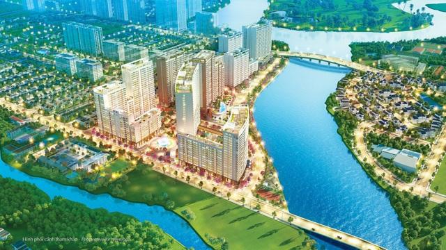 Khu phức hợp Phú Mỹ Hưng Midtown ra mắt thị trường năm 2016 và nhận được phản hồi tích cực từ người có nhu cầu mua nhà