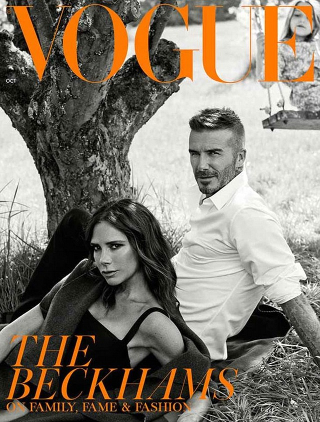 Vogue tung ra một ấn bản với thiết kế trang bìa thứ hai có sự xuất hiện của David Beckham để đập tan mọi đồn đoán