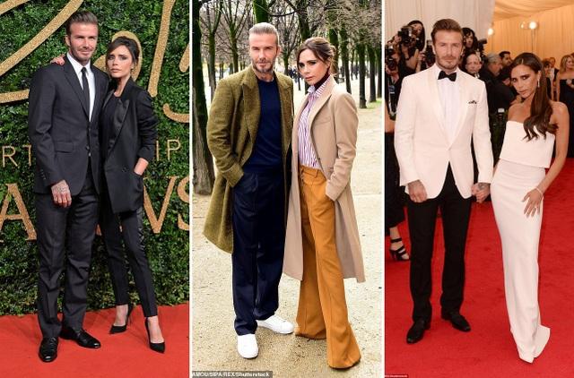 Vợ chồng David Beckham và Victoria Beckham