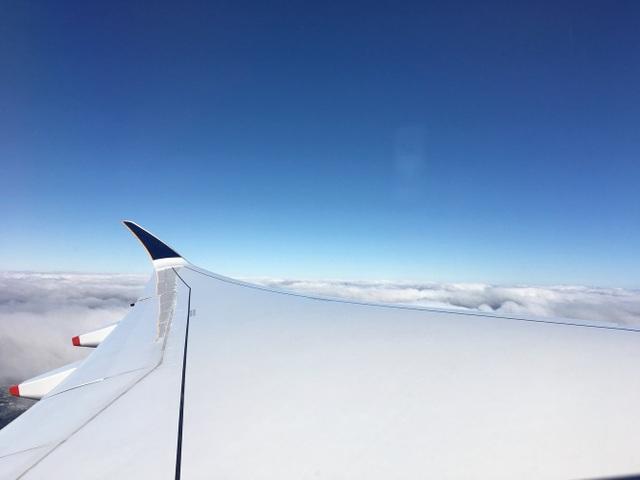 """Theo đánh giá của ông Wilson, A350-900 ULR hiện là """"máy bay duy nhất có khả năng thực hiện các chuyến bay đường dài từ Singapore tới Mỹ với chi phí kinh tế nhất"""". Sải cánh của máy bay có thể vươn xa tới gần 67 m trong điều kiện tối ưu hóa khí động học. (Ảnh: BI)"""