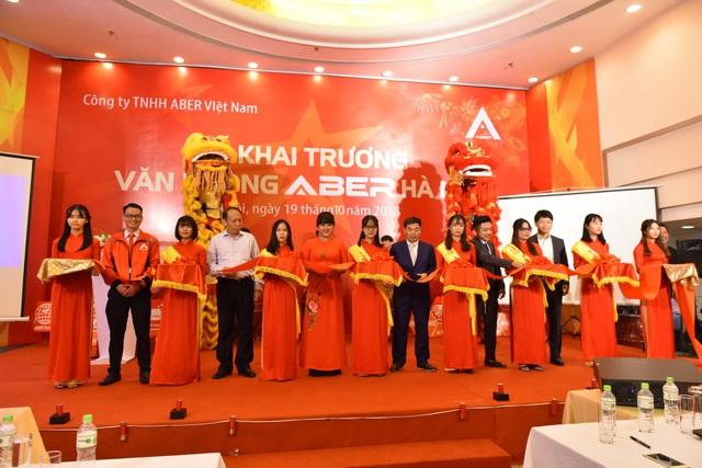 ABER chính thức khai trương Văn phòng chi nhánh ABER Hà Nội làm tiền đề mở rộng thị trường ra khắp cả nước.