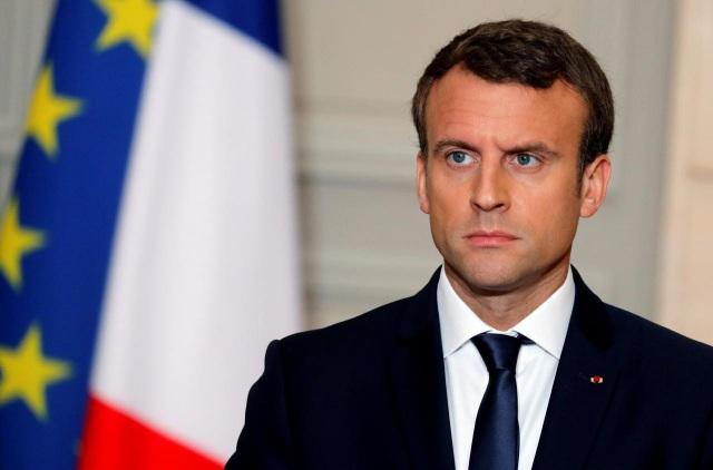 Tổng thống Pháp Emmanuel Macron (Ảnh: Reuters)
