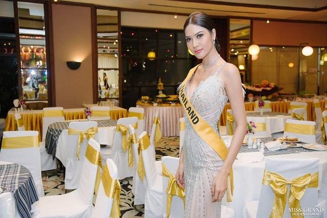 Hoa hậu Thái Lan - một trong những ứng viên sáng giá cho danh hiệu Hoa hậu năm nay.
