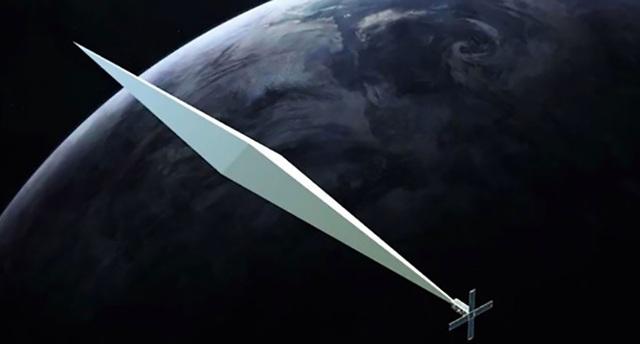 Tác phẩm nghệ thuật đặc biệt có hình dạng kim cương phản chiếu dự kiến sẽ xuất hiện trên quỹ đạo Trái Đất vào tháng 11 sắp tới.