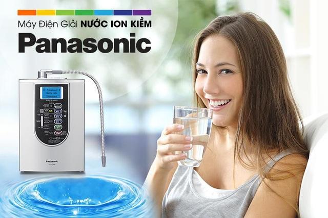Kết quả hình ảnh cho máy lọc nước ion kiềm panasonic