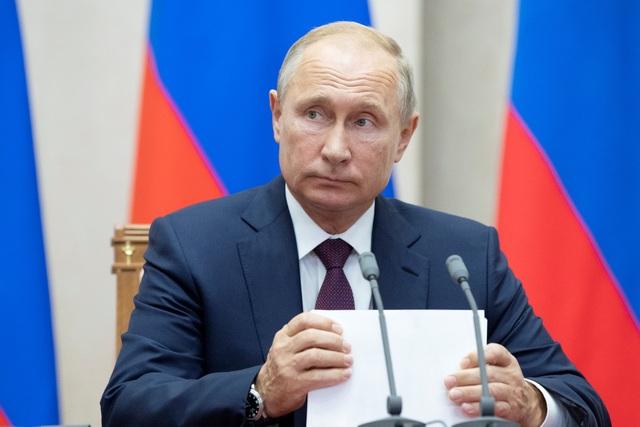 Tổng thống Putin (Ảnh: Reuters)