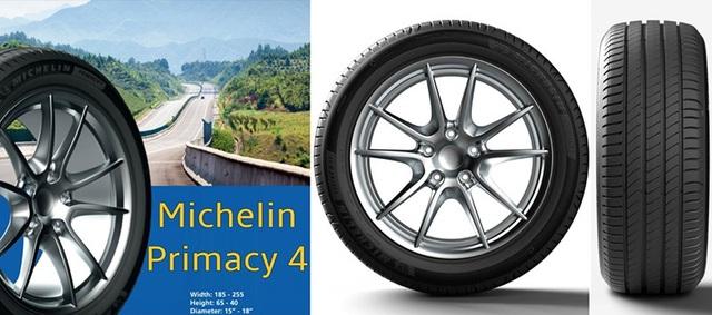 Michelin ra mắt Primacy 4 - Công nghệ mới, an toàn và êm ái hơn - 1