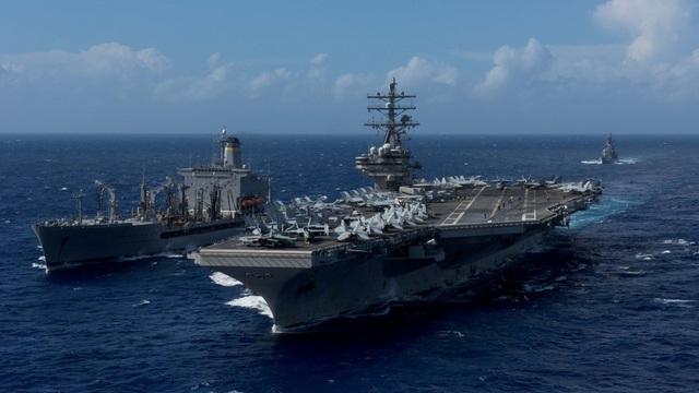 Tàu sân bay USS Ronald Reagan (Ảnh: Reuters)