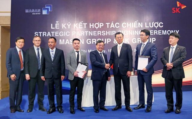 SK Group đã hoàn tất giao dịch và là đối tác chiến lược của Masan Group - 1