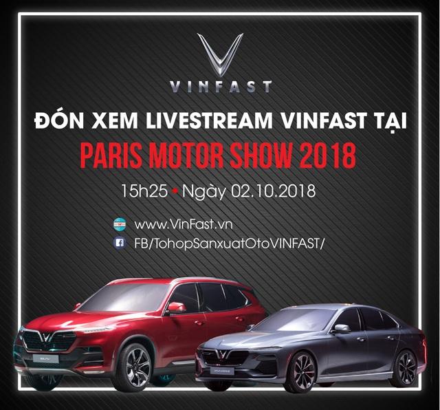 Đếm ngược lễ ra mắt xe hơi thương hiệu Việt tại Paris Motor Show 2018 - 1