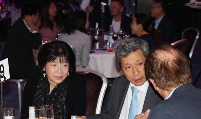Đại sứ Việt Nam tại Vương quốc Anh Trần Ngọc An đến tham dự buổi lễ trao giải