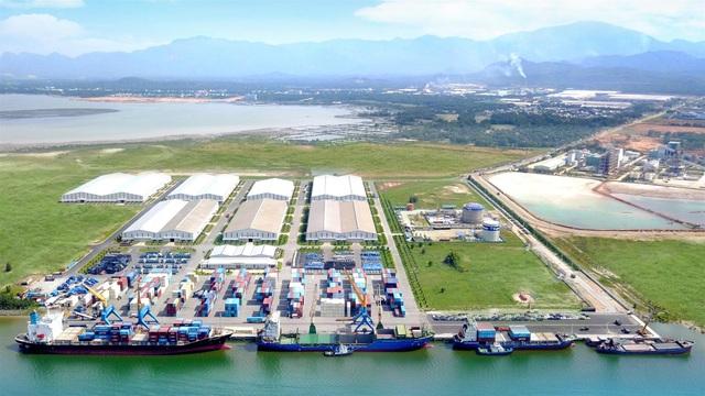 Cảng Chu Lai - nơi xuất khẩu sản phẩm Thaco sang thị trường nước ngoài